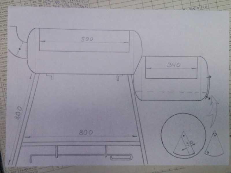 Мангал из газового баллона: разновидности барбекю, как изготовить мангал с коптильней своими руками