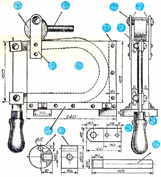 Чертежи для изготовления лобзиковых станков своими руками