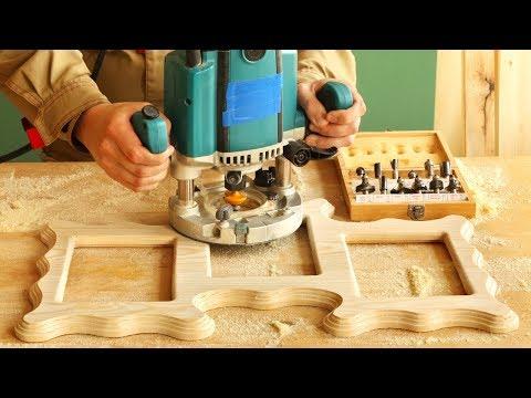 Фрезеровка по дереву: оборудование, инструмент, художественные приемы