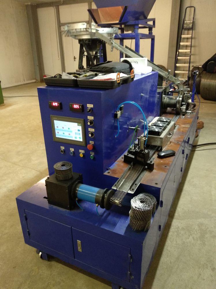 Станок для производства гвоздей - виды оборудования для изготовления метизов + видео