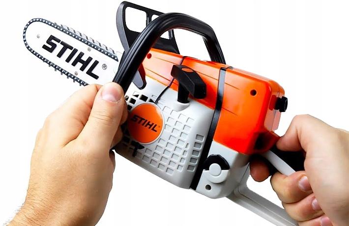 Игрушечная бензопила stihl: обзор игрушки для детей