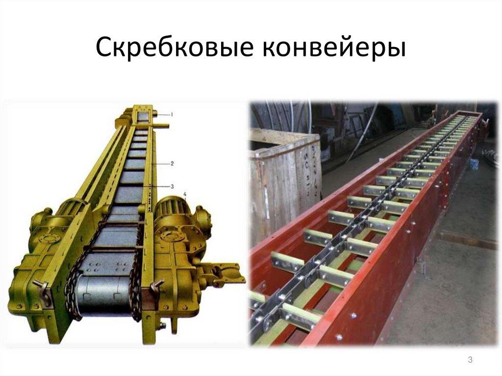 Цепной конвейер - устройство и применение