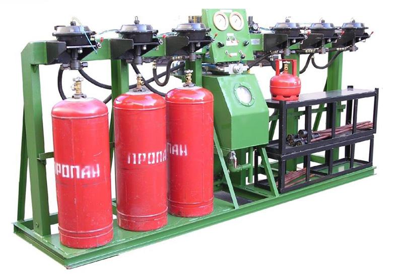 Освидетельствование газовых баллонов метан