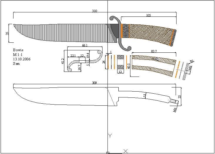 Самодельные ножи фото чертежи. готовые чертежи популярных ножей, нюансы самостоятельного составления