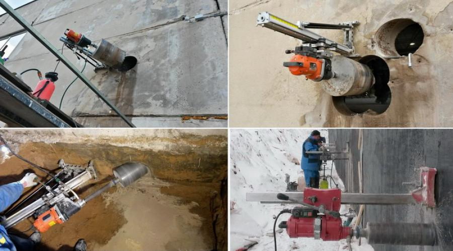 Чем просверлить арматуру в бетонной стене?