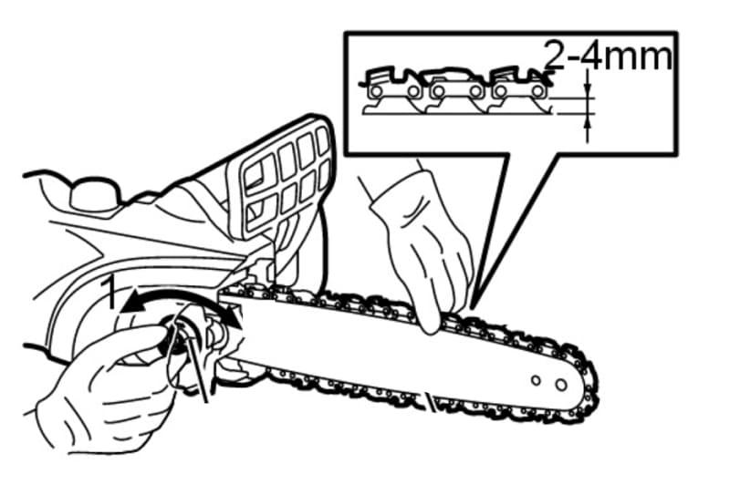 Как правильно поставить цепь на бензопилу