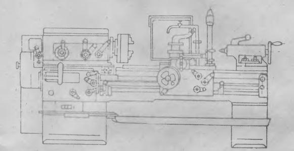 1616 станок токарно-винторезный универсальный. паспорт, руководство, схемы, описание, характеристики