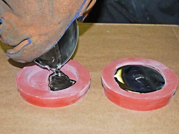 Литье из олова. художественное литье из олова. из чего и как изготовить форму