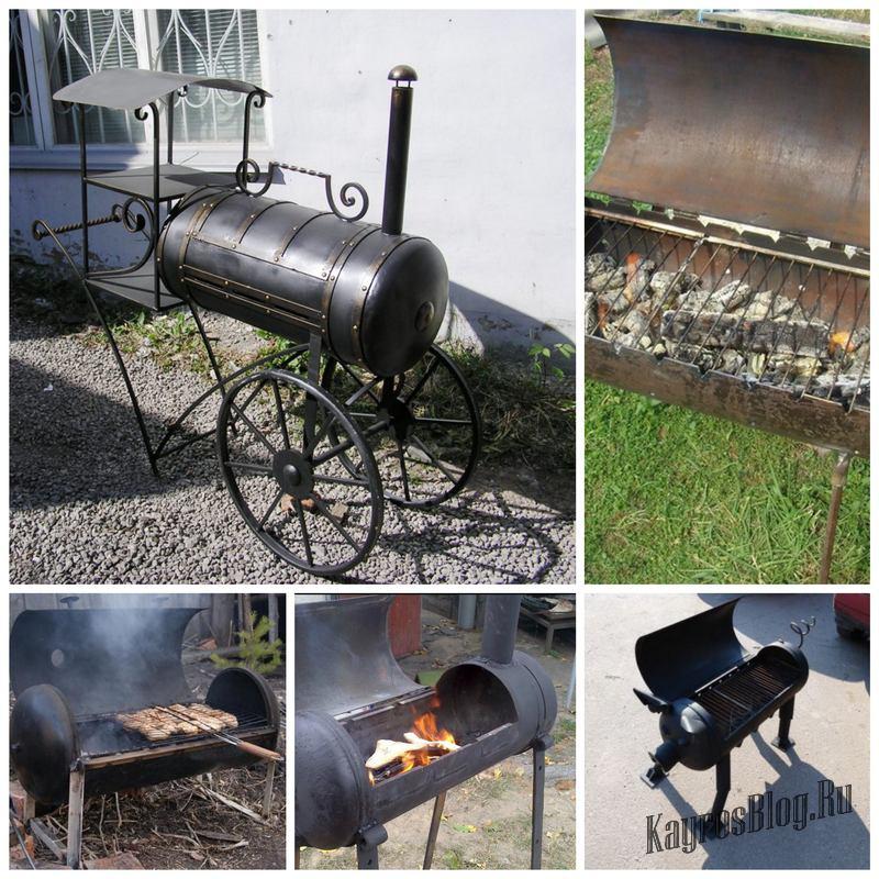 Как изготовить мангал из газового баллона: примеры и пошаговая инструкция