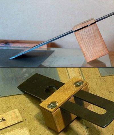 Приспособление для заточки ножей своими руками – чертежи, пошаговая инструкция