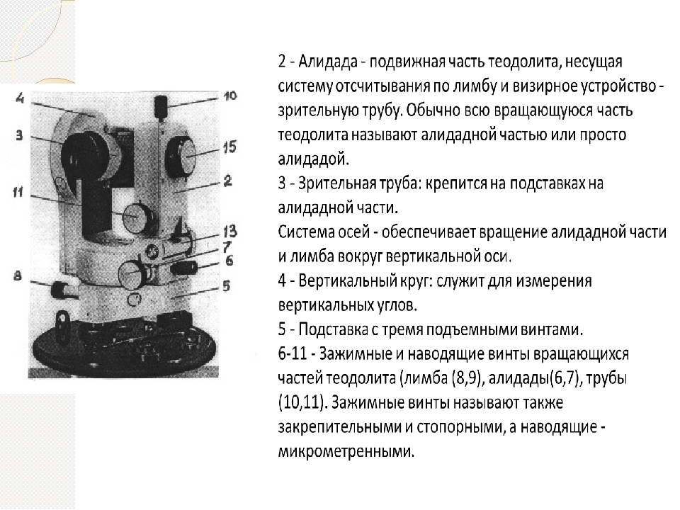 Теодолит - что это такое? теодолит оптический. теодолит и нивелир - в чем разница?