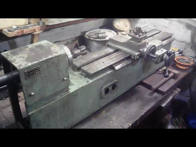 Описание основных узлов, технические характеристики настольного токарного станка р-105