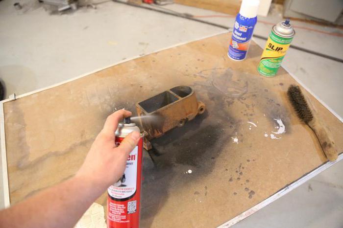 Как убрать ржавчину с металла: очистители, инструменты