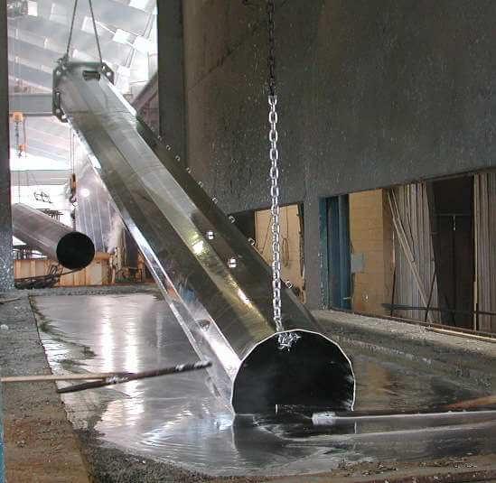Технология горячего цинкования металлоконструкций