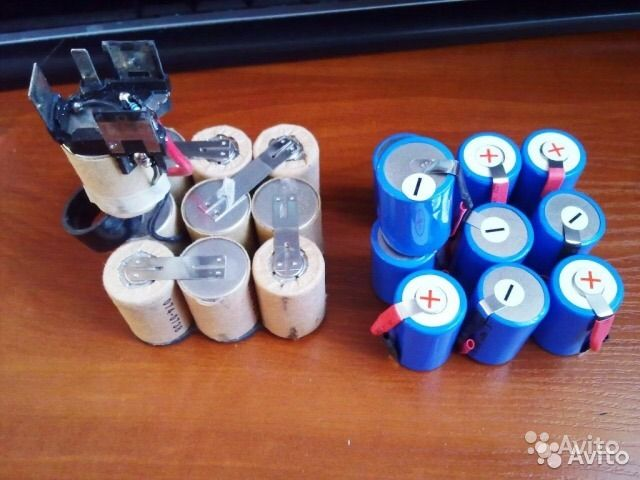 Как восстановить литиевый аккумулятор от шуруповёрта dewalt?
