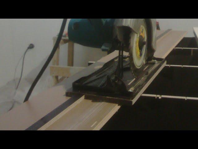 Направляющая для циркулярной пилы: характеристики каретки, линейки и шины для дисковой циркулярки. как сделать ее своими руками по чертежам