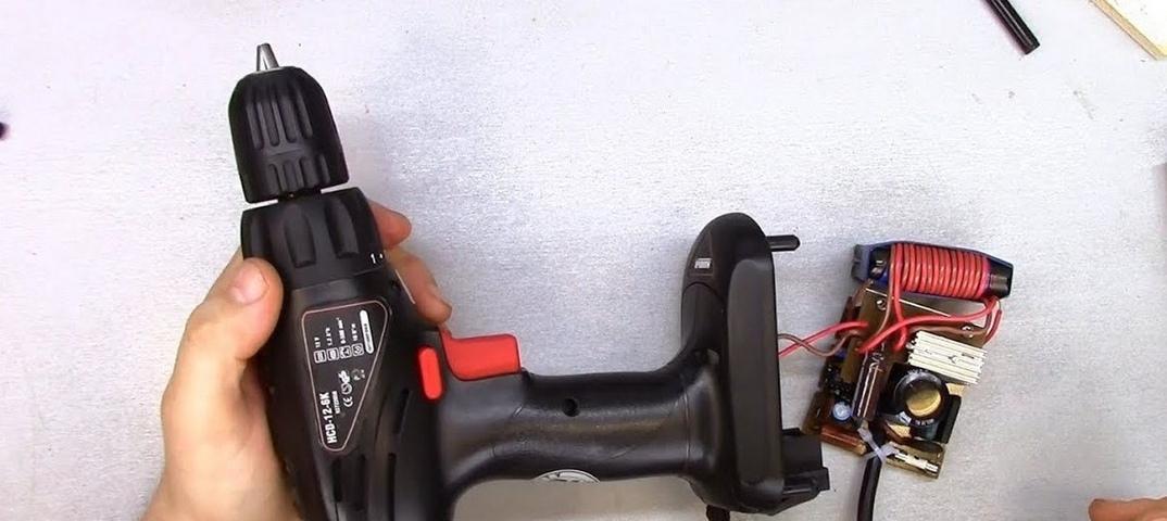 Как переделать аккумуляторный шуруповерт в сетевой