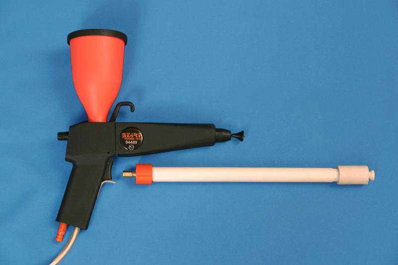 Пистолет для порошковой покраски лидер