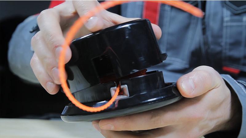 Как установить леску на катушку триммера электрического - nzizn.ru