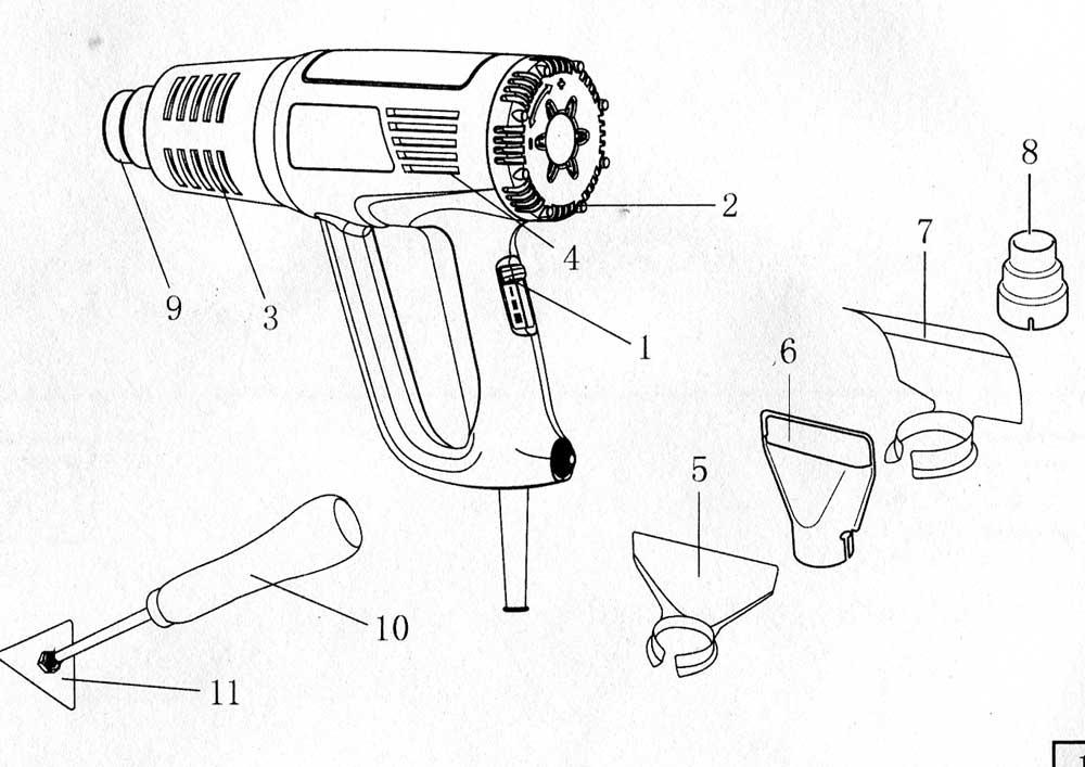 Как сделать строительный фен и насадки к нему своими руками с чертежами и видео