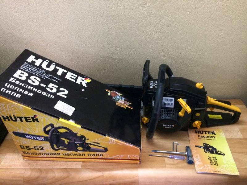 Бензопила хутер (huter): bs-52, 45, 45m, 62, 40, 25, технические характеристики, отзывы владельцев, цена
