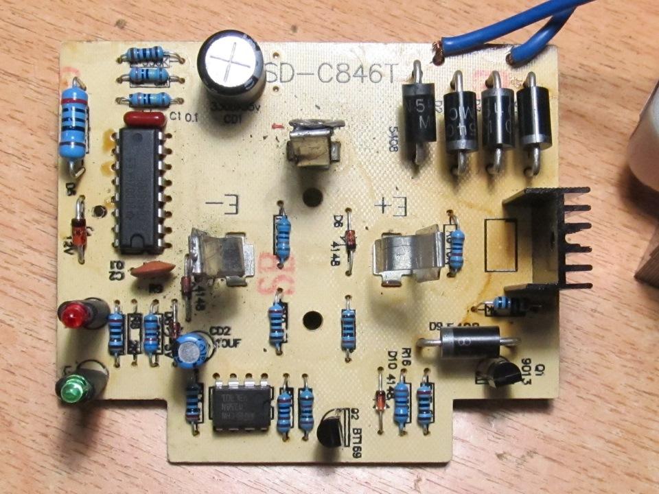 Ремонт зарядного устройства для шуруповерта