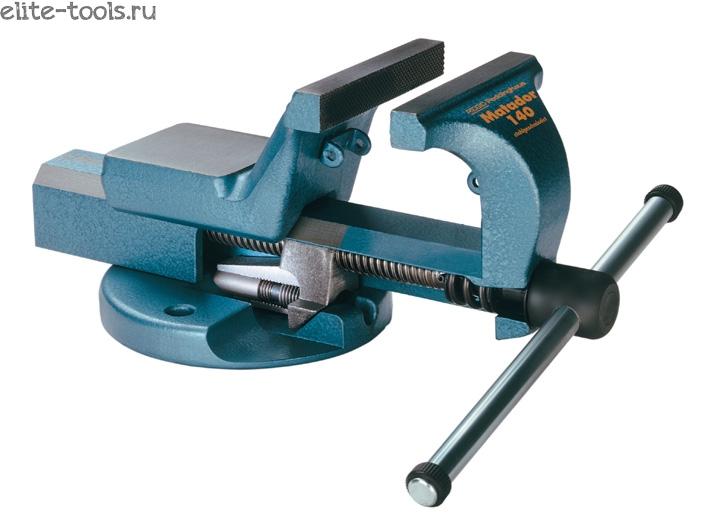 Станочные тиски с конструкцией поворотного устройства