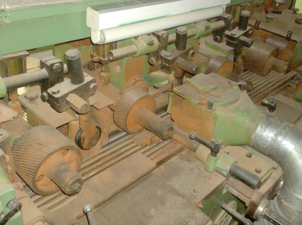 Четырехсторонний деревообрабатывающий станок
