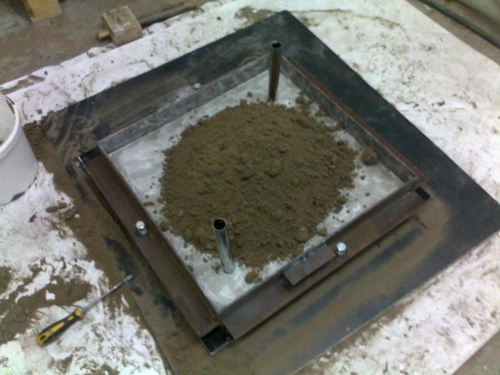 Смеси | формовочные | приготовление | материалы | отливка