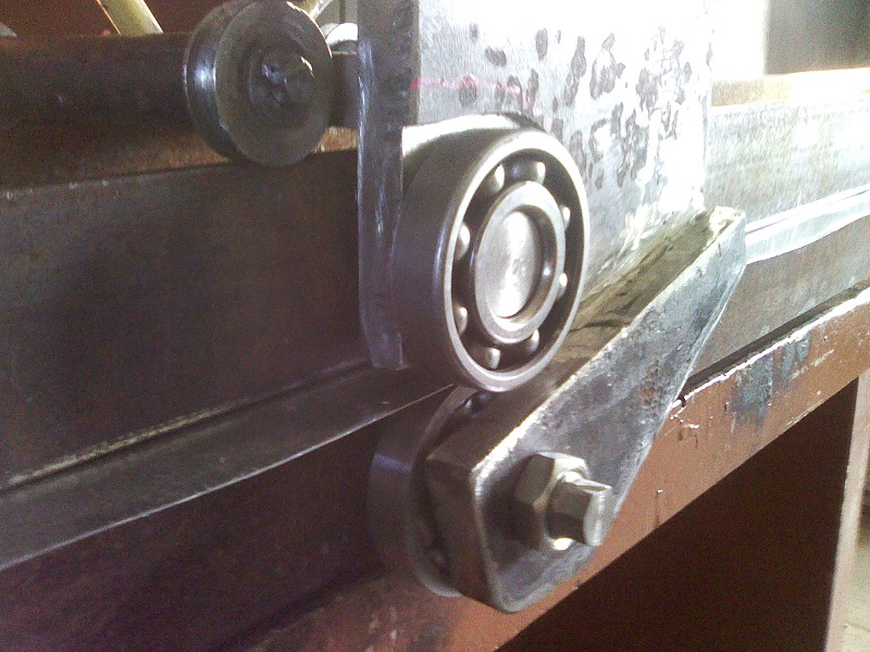 Делаем роликовые ножницы самостоятельно из подшипников – мои инструменты