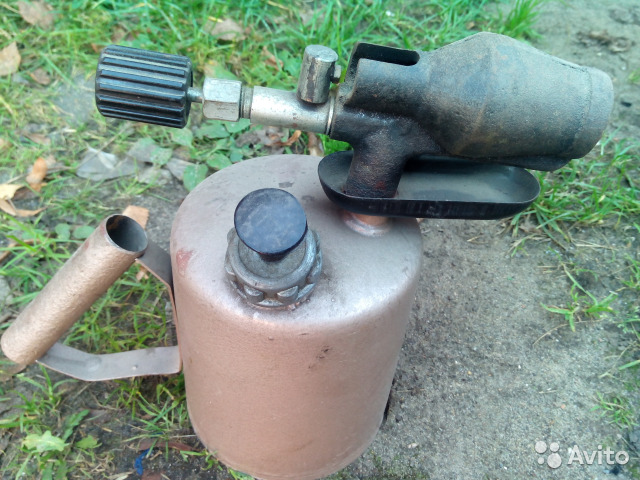 Самодельная паяльная лампа пулевизатор