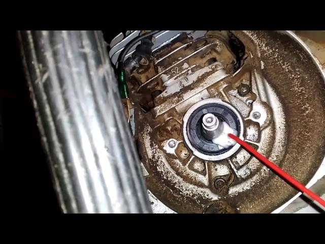 Замена коленвала китайской бензокосы 43-52см³, сборка фотоотчет
