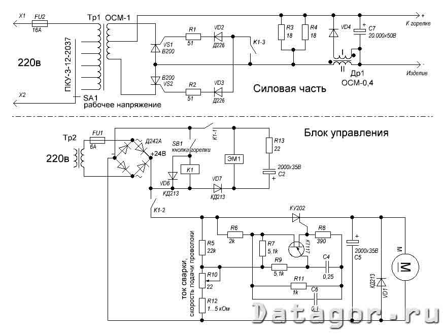 Самодельный полуавтомат из инвертора своими руками: как переделать