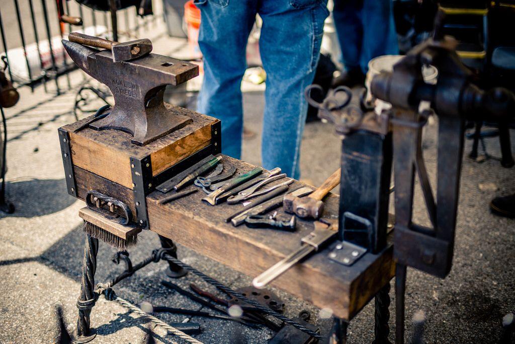 Художественная ковка: технологии, приемы, оборудование