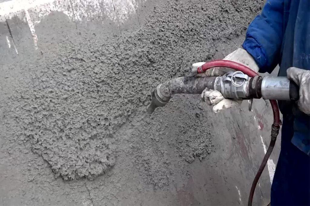 Торкрет-бетон: преимущества, назначение, технология работы и особенности