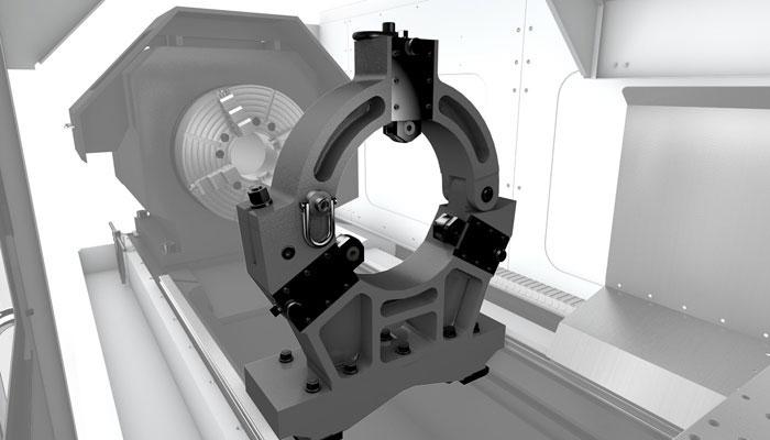 Люнет для токарного станка: установка и настройка