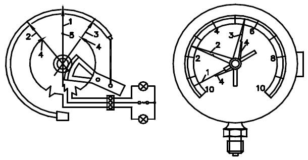 Что такое электроконтактный манометр, назначение, принцип работы, схема подключения и обзор популярных моделей
