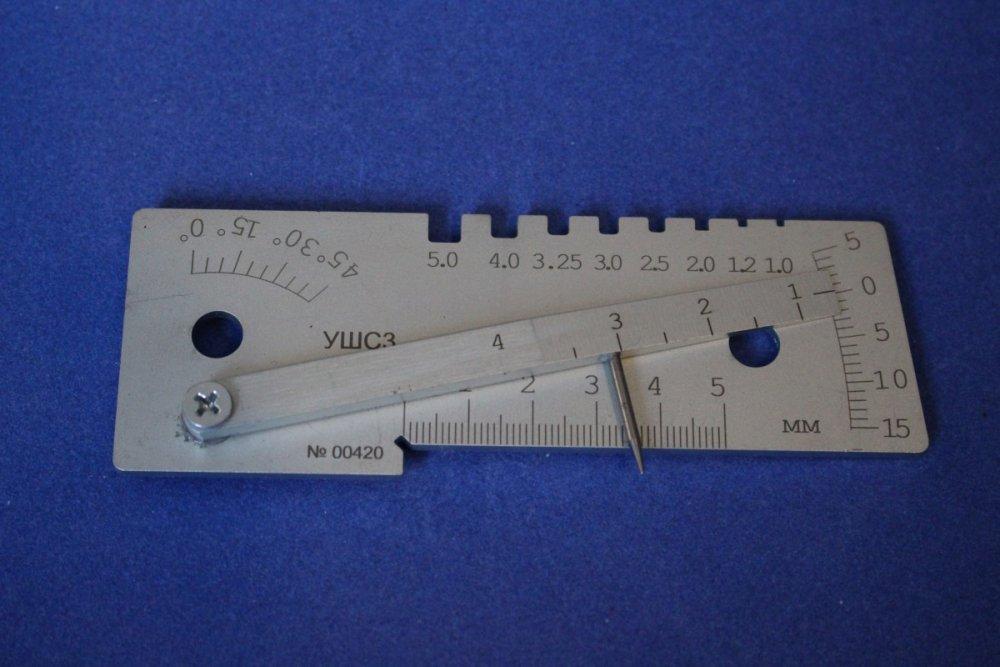 Ушс-3. универсальный шаблон сварщика