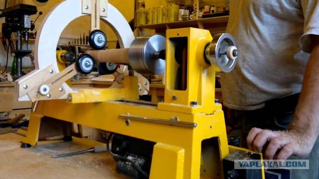 Люнет для токарного станка подвижного и неподвижного типа: что это такое, изготовление своими руками