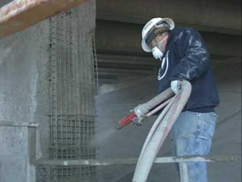 Торкретирование бетона: что это такое, как сделать напыление, состав