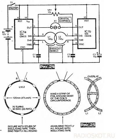 Металлоискатель своими руками: схема глубинного и простейшего металло детектора