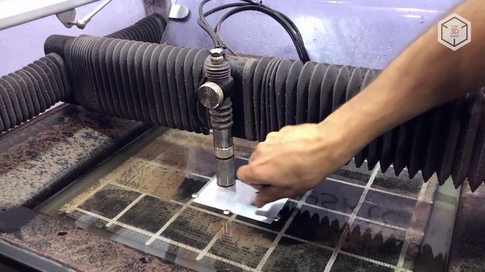 Гидроабразивная резка: оборудование, способы, преимущества и недостатки
