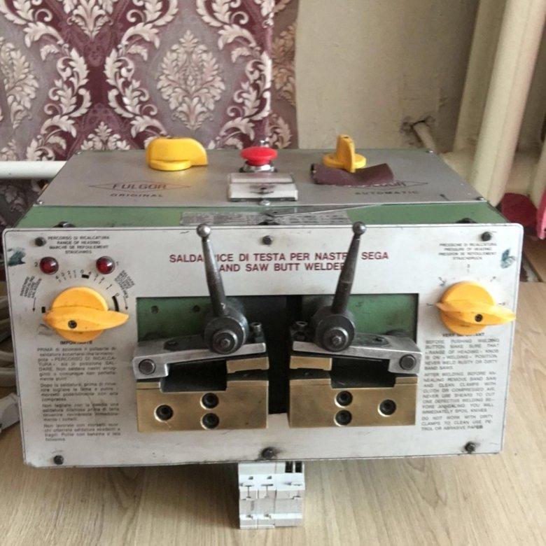 Аппарат для сварки ленточных пил | проинструмент