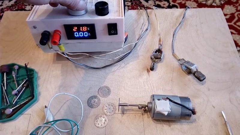 Сборка мини-дрели, цангового патрона, дремеля своими руками из старого принтера и других устройств