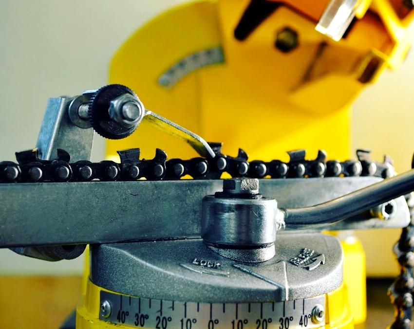 Напильники для заточки цепей бензопил: как правильно точить цепь круглым напильником в домашних условиях своими руками? как подобрать диаметр?