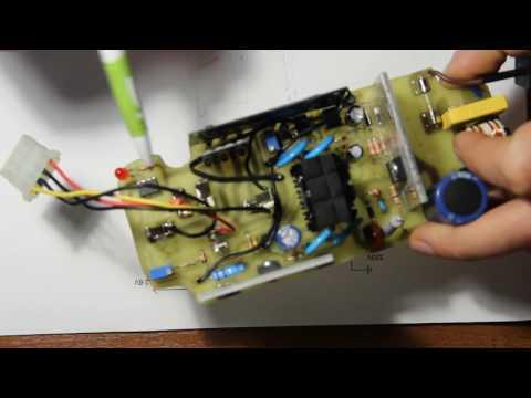 Не работает зарядное устройство шуруповерта интерскол