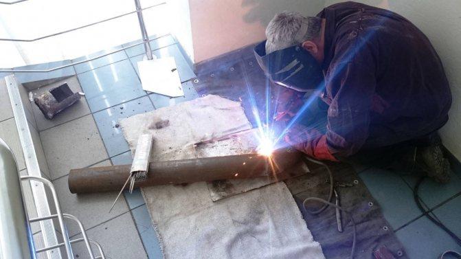 Сварка стальных труб отопления своими руками