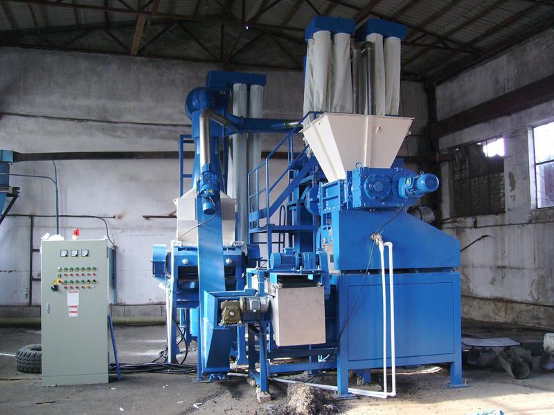 Оборудование для переработки шин: широкий выбор линий по цене и характеристикам