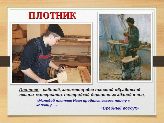 Столяр по изготовлению декораций должностная инструкция