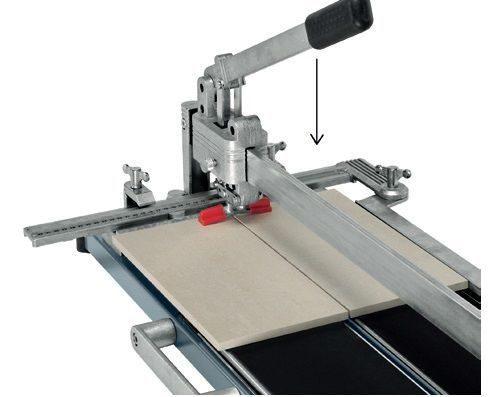 Как резать керамическую плитку плиткорезом пошаговое руководство